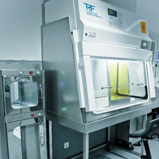 Lead Lined Biological Safety Cabinet Trf